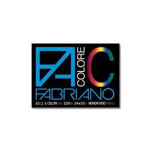 ALBUM FABRIANO COLORE 24X33 L-R  25FG.
