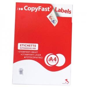 ETICHETTE ADESIVE STAMPABILI LASER/JET COPYFAST 70X48