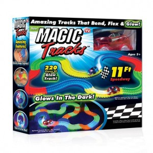 MAGIC TRACKS PISTA LUMINOSA LED VISTO IN TV
