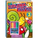 ALBUM CARIOCA COLORA TUTTO 3 610629