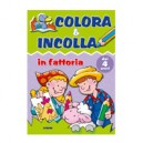 ALBUM COLORA E INCOLLA STICKERS 425392