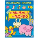 ALBUM COLORIAMO ANIMALI DEL MONDO 429147
