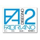 CARTELLA DISEGNO FA2 33X48 FG.12 RUVIDO