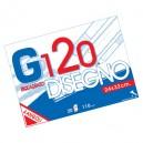 CARTELLA DISEGNO G120 24X33 FG.20 RIQUADRATO