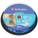 CD-R 80 MIN. 700 MB VERBATIM  PZ.10
