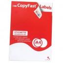 ETICHETTE ADESIVE STAMPABILI LASER/JET COPYFAST 105X72