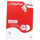 ETICHETTE ADESIVE STAMPABILI LASER/JET COPYFAST 105X148