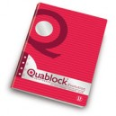 QUABLOCK EVOLUTION COLLATO RINFORZATO A4 FG.40.GR.80 1R
