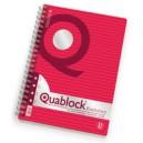 QUABLOCK EVOLUTION SPIRALATO RINFORZATO A4 FG.50.GR.80 1R