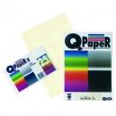 CARTA Q/PAPER MARBLE A4 GR.110 FG.100 AVORIO 0500.69