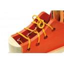 Scarpa da allacciare «Arancione»