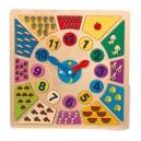 Orologio colorato «Impara l'ora»