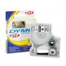 NASTRO X DYMO LP/LM D1 9X7 NERO/BIANCO