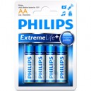 STILO EXTREMELIFE ALCALINE PLUS 4PZ PHILIPS