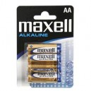 BATTERIE MAXELL ALKALINE STILO AA 4 PZ 723758.04.EU