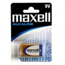 BATTERIA MAXELL ALKALINA 9V 1 PZ 723761.04.EU
