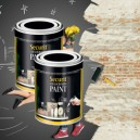 PITTURA LAVAGNA NERO 2500ml (30mq) Securit