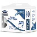Pacco 250 strappi Carta Igienica interfogliata EasyBag BulkySoft