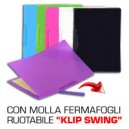 CARTELLINA C-MOLLA HIGH QUALITY KLIP SWING 6 COLORI